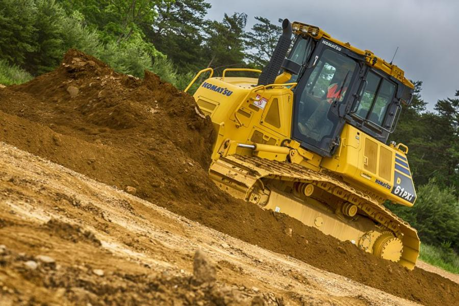 Available on the Komatsu D51EXi-24, D51PXi-24, D61EXi-24 and D61PXi-24 dozers, Komatsu's Proactive Dozing Control logic is built on the company's existing intelligent machine control.