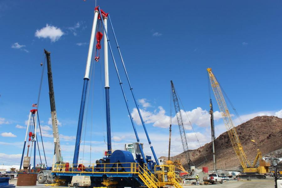 Work is in the final stages to develop a low lake level pumping station at Lake Mead to further ensure adequate water will be available in the most populous area of Nevada.