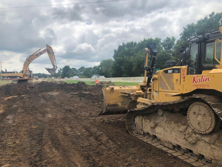 """The meat of the job is next year and we're doing about 20 percent of the project this year,"" Project Manager Matt Kalin said. ""We'll have more equipment onsite in 2020.""