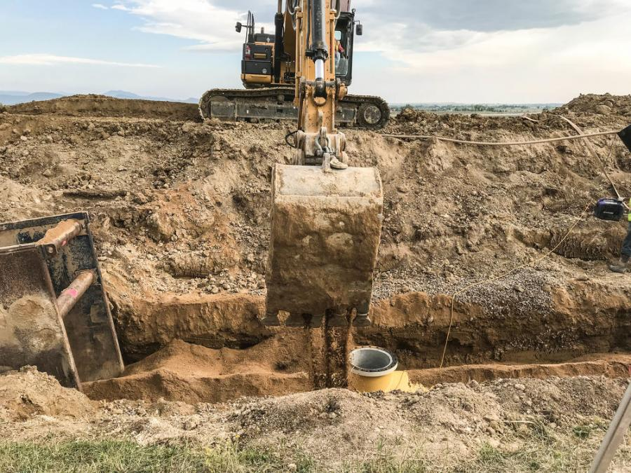 The Southern Water Supply Project II (SWSP) pipeline will bring additional Colorado-Big Thompson Project and Windy Gap Project water to the city of Boulder, town of Berthoud, Left Hand Water District and the Longs Peak Water District. (Northern Water photo)