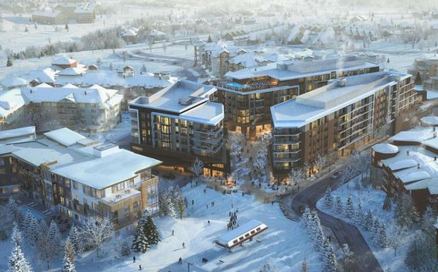 Situated in the Canyons Village on Sundial Court, the residential resort will offer 233-key ski-in lift-out guestrooms and suites, and condos ranging from $395,000 to $3.7 million.