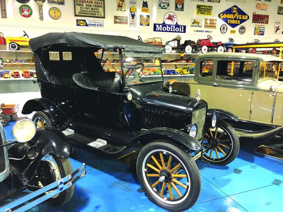 More than 1,500 lots of classic cars (including this 1923 Ford Model T), trucks, signs, toys, gas pumps from days gone by and more are going on the block.