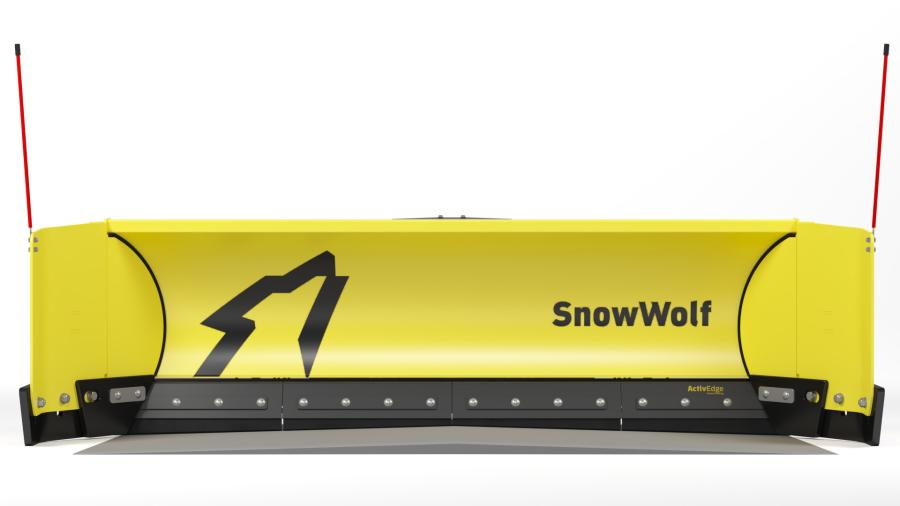 The ActivEdge is an upgrade option for SnowWolf's standard AR400 steel cutting edge on the QuattroPlow, QuattroPlow XT, QuattroPlow TR, UltraPlow and UltraPusher TE.