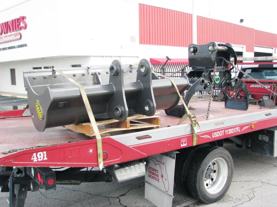 Florida Company Takes Delivery of A Special Machine