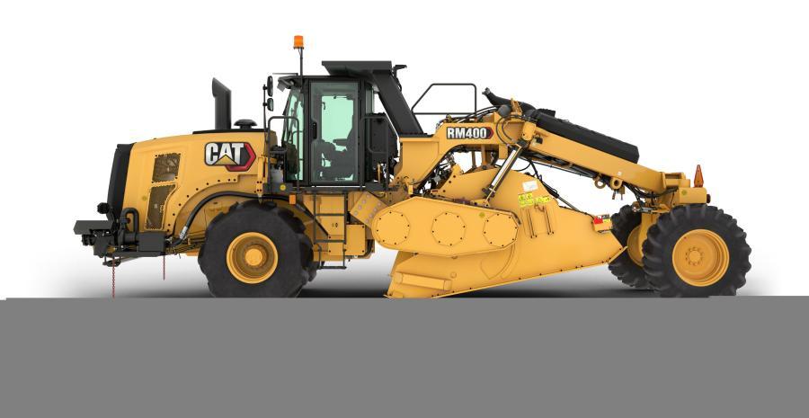 Caterpillar Inc.'s RM400 rotary mixer replaces the RM300 rotary mixer.
