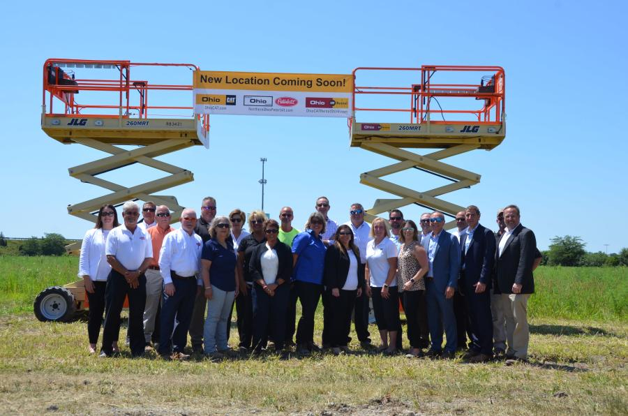 Ohio Cat leaders were on hand for the ceremonial groundbreaking of the company's new Perrysburg, Ohio, location that will service the Toledo market.