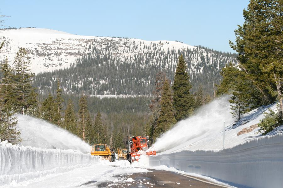 The Wasatch Range is a rugged area that regularly gets pounded by winter storms — producing more than 500 in. per year in some places. (UDOT photo)