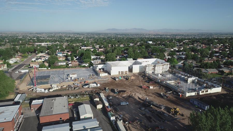 Next year, junior high students in Roy, Utah, will begin the school year in the first-of-its-kind school in the state, built with insulated concrete forms. (Mike Schwab Photo)