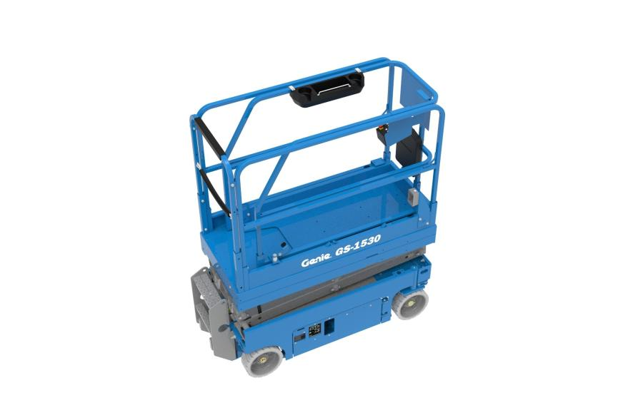 The new easy-to-install Genie Lift Tools work tray is designed to help eliminate clutter and potential tripping hazards by providing operators and workers with a convenient place to store their tools, fasteners and small materials in the platform.