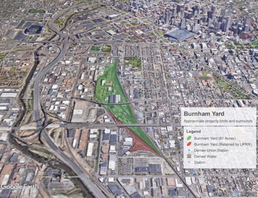 CDOT is looking to purchase a 61-acre parcel of land near downtown Denver.