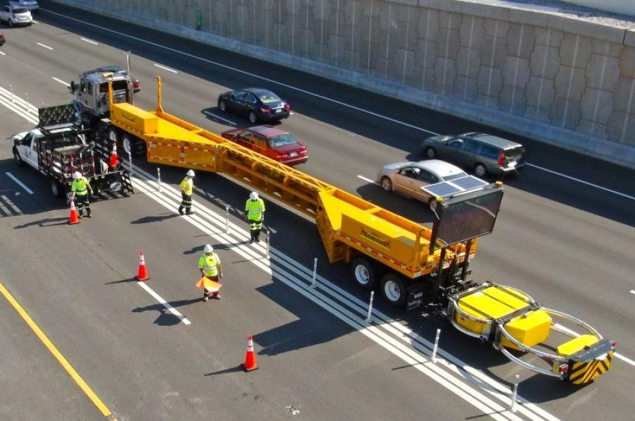 Mobile barriers were designed to keep worker safe in work zones, but are not being widely used due to the Proprietary Products Rule.