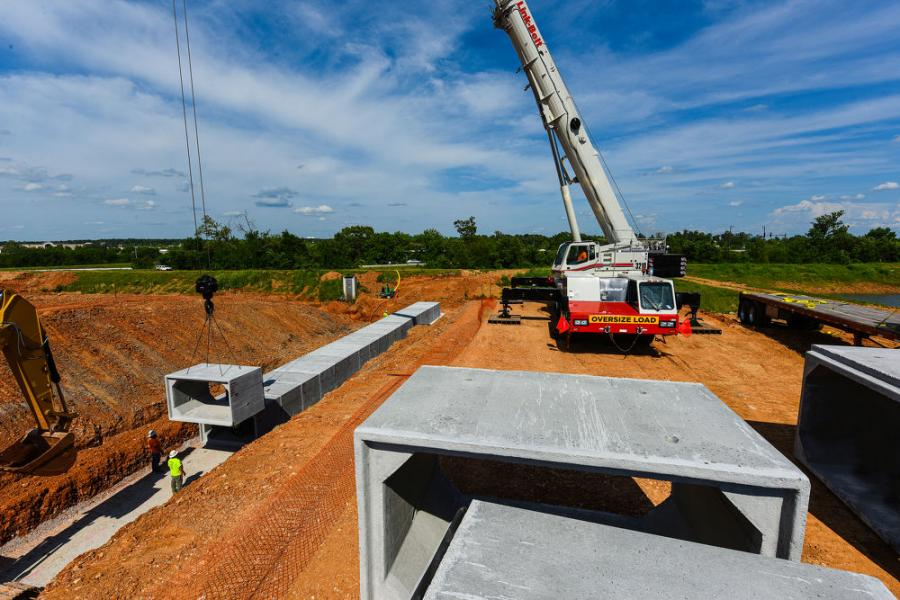 Multi-Craft Contractors Inc. of Springdale, Ark., completed purchase of a Link-Belt 210-ton (185-mt) ATC-3210 all-terrain crane in order to meet growing lifting demands of northwest Arkansas.