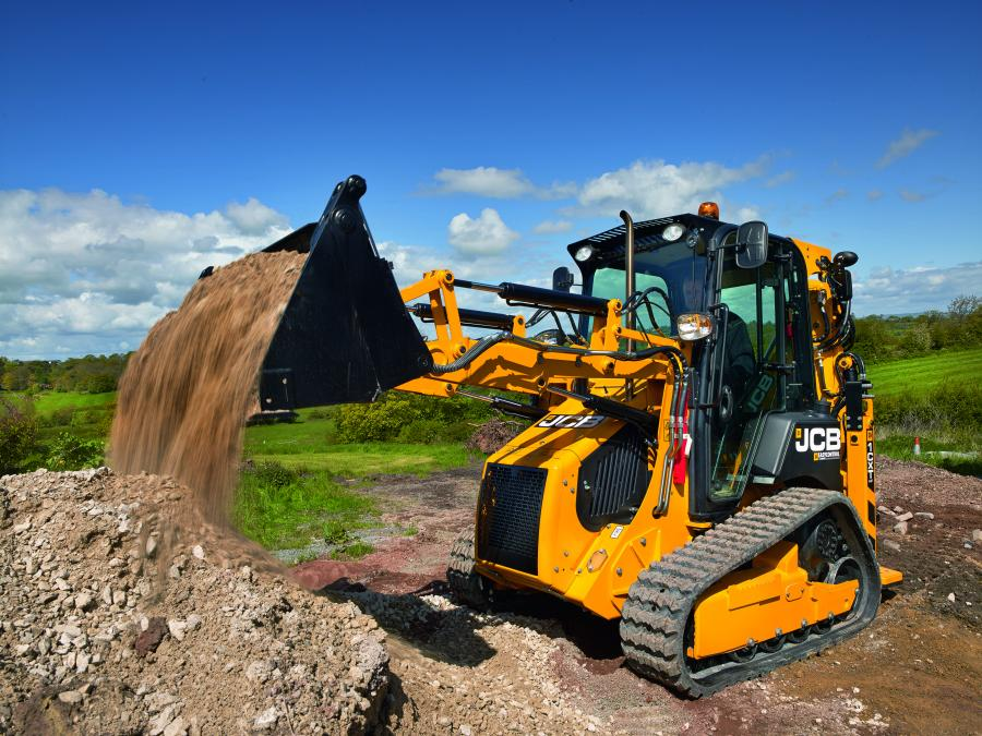 The JCB 1CXT is now available in North America, offering construction-grade material handling and excavating performance with the size, maneuverability and transportability of a compact track loader.