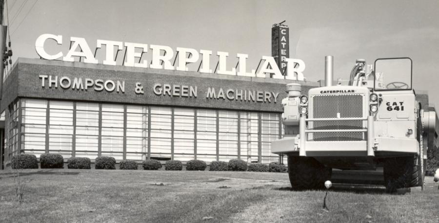 Thompson and Green Machinery's Murfreesboro Road location in Nashville, Tenn.