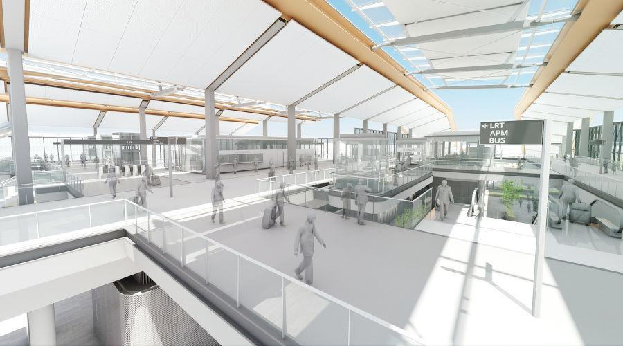 "This project will serve as a transit ""Gateway"" to Los Angeles International Airport (LAX)