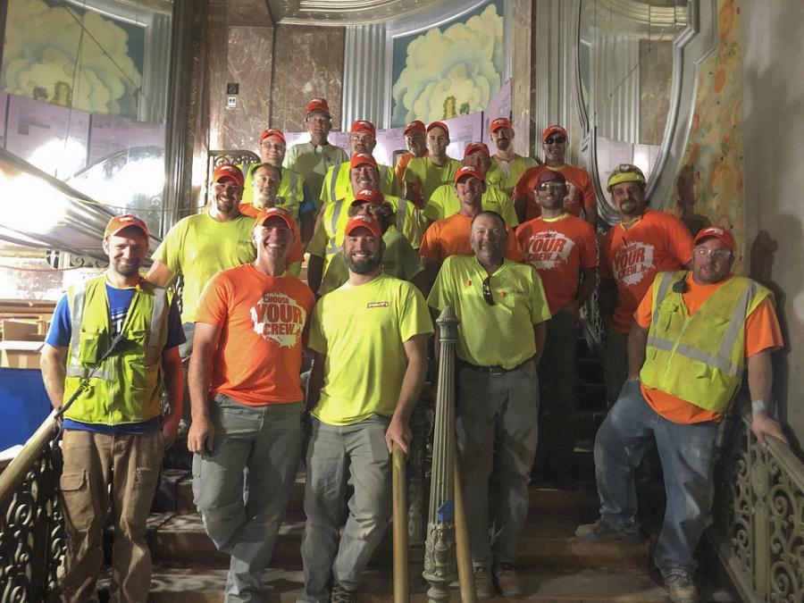 "C.D. Smith Construction Inc. is a winner in the JLG ""Crews Across America"" sweepstakes."