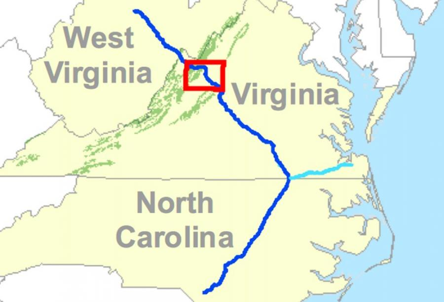 The pipeline, proposed in 2014 by Dominion Energy, Duke Energy and other energy companies, would originate in West Virginia and run through parts of Virginia and North Carolina.
