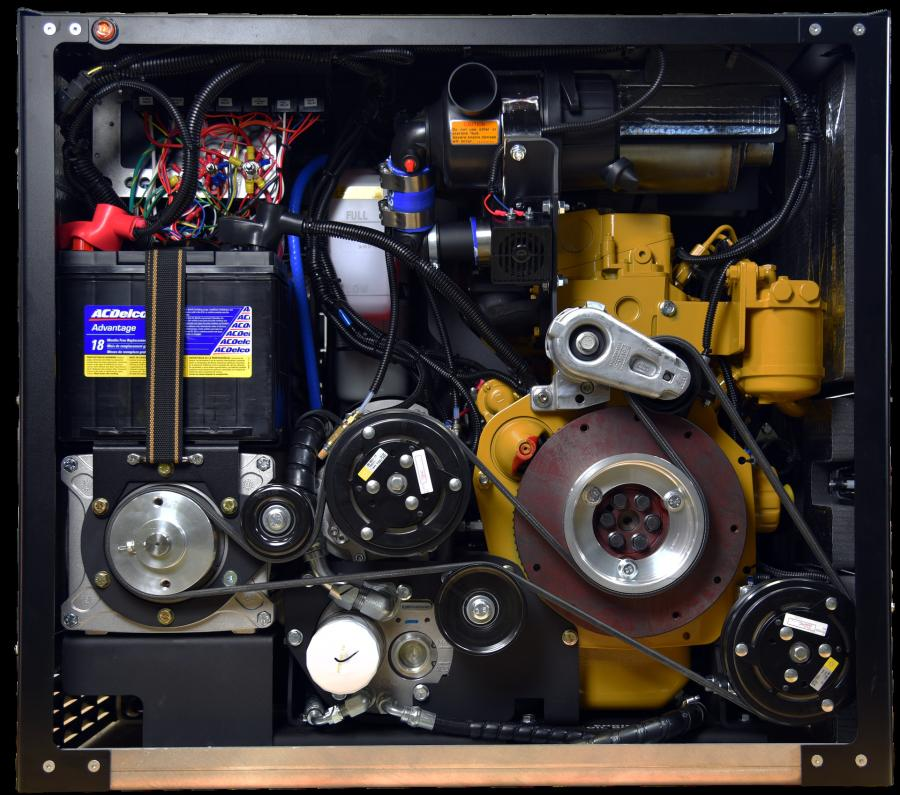 The VMAC Multifunction includes a rotary screw air compressor, generator, welder, battery booster/charger, PTO with optional hydraulic pump and integrated cold climate kit.