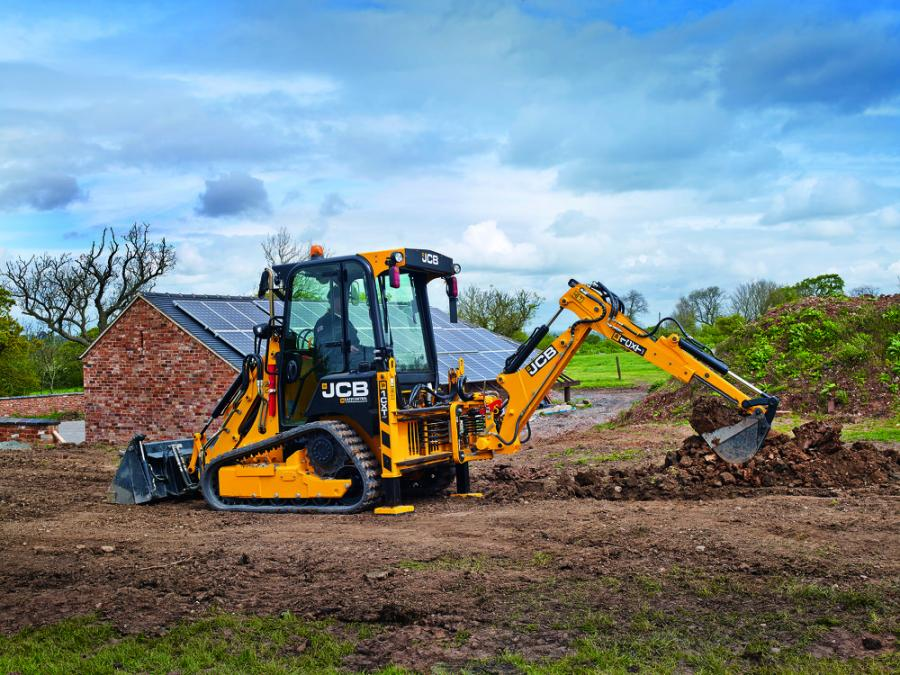 JCB will display and demonstrate the new 1CXT compact backhoe loader at the 2019 GIE+EXPO. The JCB 1CXT has a 60 percent smaller footprint than a full-size backhoe and can be towed between job sites without a Commercial Driver's License (subject to local regulations).