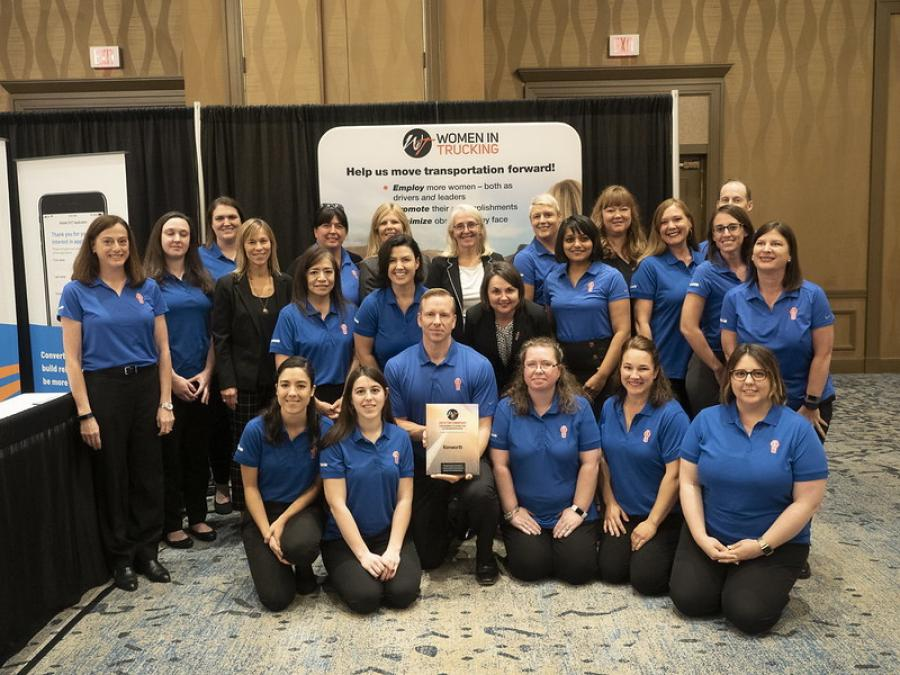 Kenworth was recognized as a 2019 top workplace for women in the transportation industry by the Women in Trucking Association (WIT) at a ceremony held in conjunction with the organization's Accelerate! Conference & Expo in Dallas, Texas.
