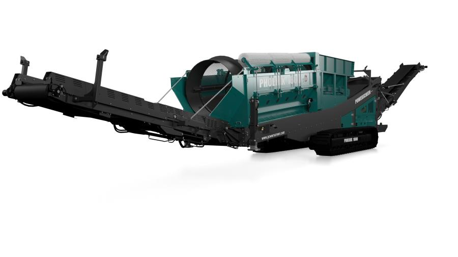 The Phoenix range includes the Powerscreen Phoenix 1600, which comes in both tracked and wheeled versions, the mid-size Powerscreen Phoenix 2100 and the larger flagship Powerscreen Phoenix 3300.