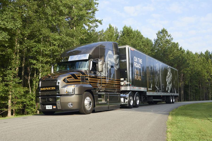 Proceeds from the online auction of a customized Mack Anthem used by the Zac Brown Band during its 2018 Down the Rabbit Hole Live tour will benefit Camp Southern Ground.
