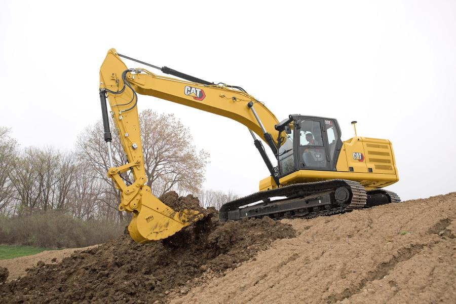 The advanced hydraulic system of the new Cat 326 excavator provides the optimum balance of power and efficiency, while giving the operator complete control of excavating precision, according to the manufacturer.