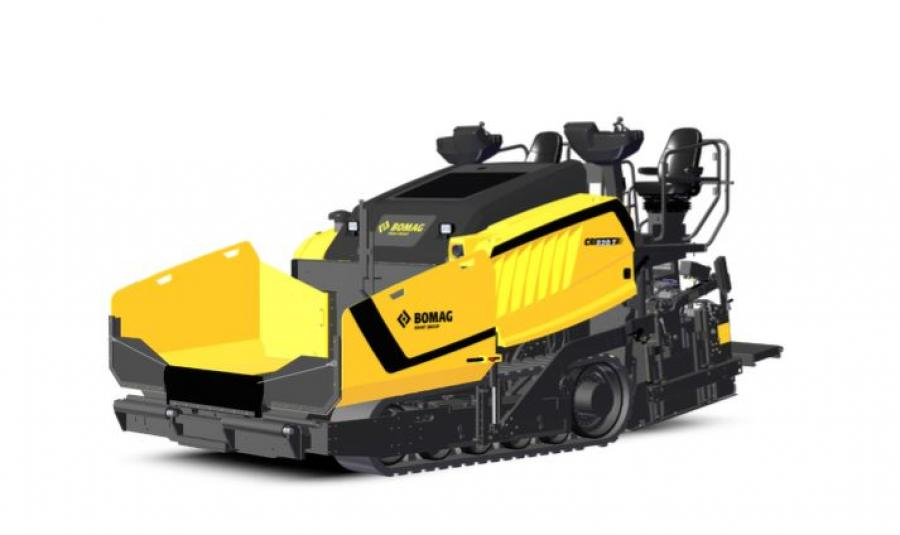 The CR 820 Series boasts three-point suspension to float the paver over subbase irregularities and maintain preset screed slope and grade, delivering higher mat smoothness over commercial pavers with a fixed rear suspension.