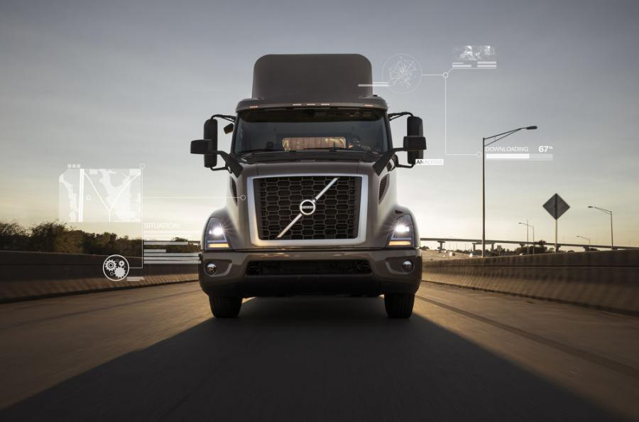 Volvo Trucks' connectivity services are now available in more than 200,000 commercial vehicles in North America.