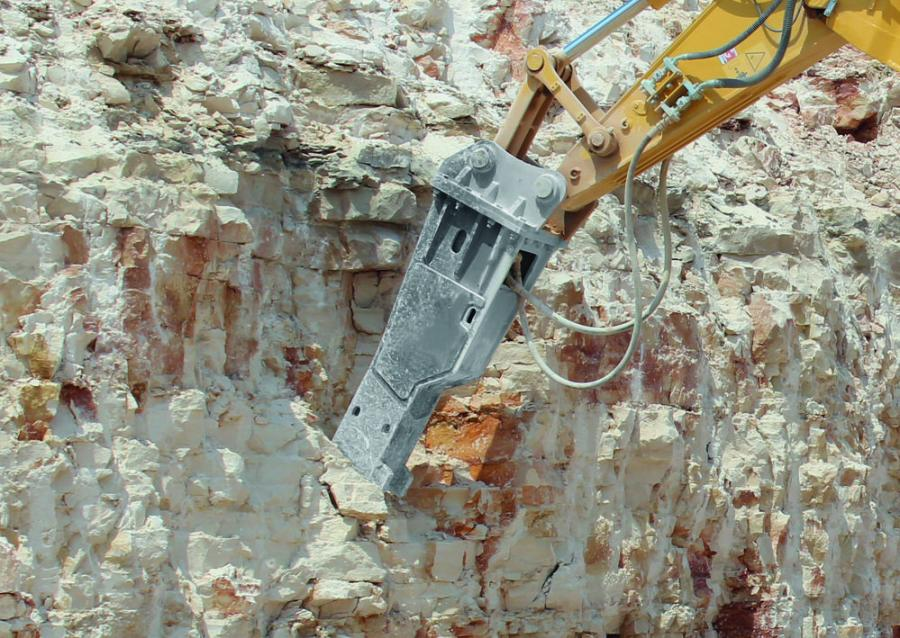 Kinshofer's KFX-Series breakers come in a wide range of weight and power options. This makes it easy to find a breaker that fits individual needs in road work, demolition, recycling, tunneling and underwater applications.