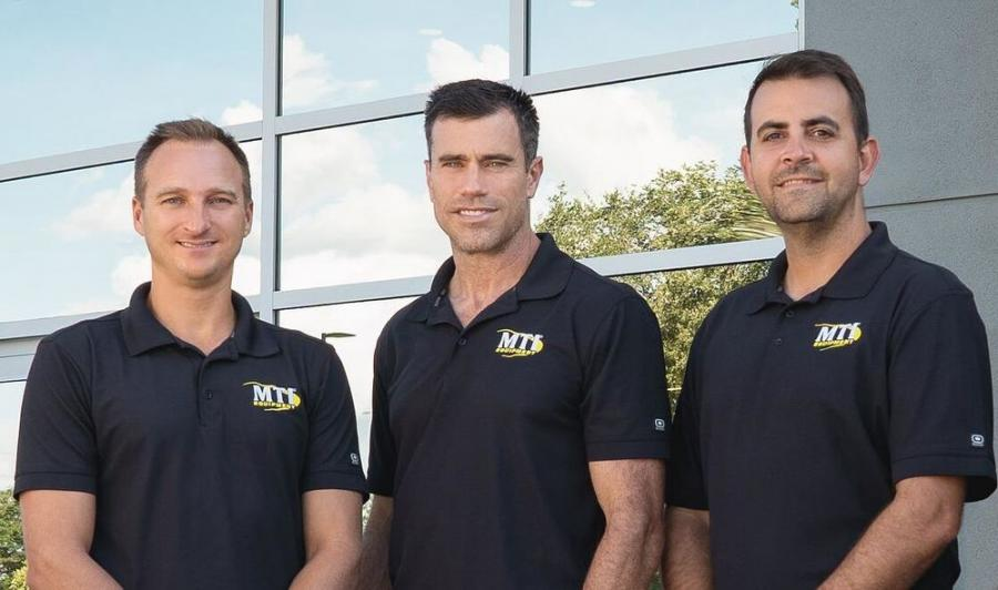 (L-R): The ownership group consists of Canon Stahl, Shawn Hendricks and Alain Trimble.