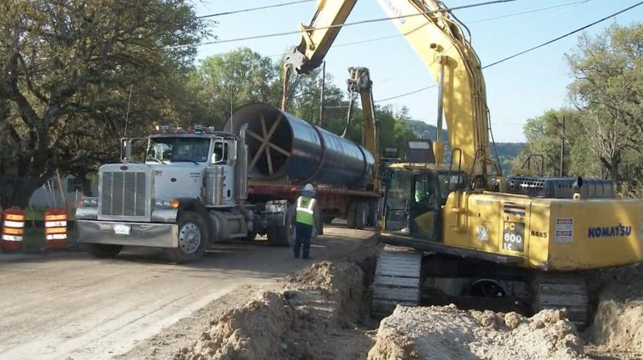 West Regional Water Authority pipeline construction is scheduled to begin in 2020.