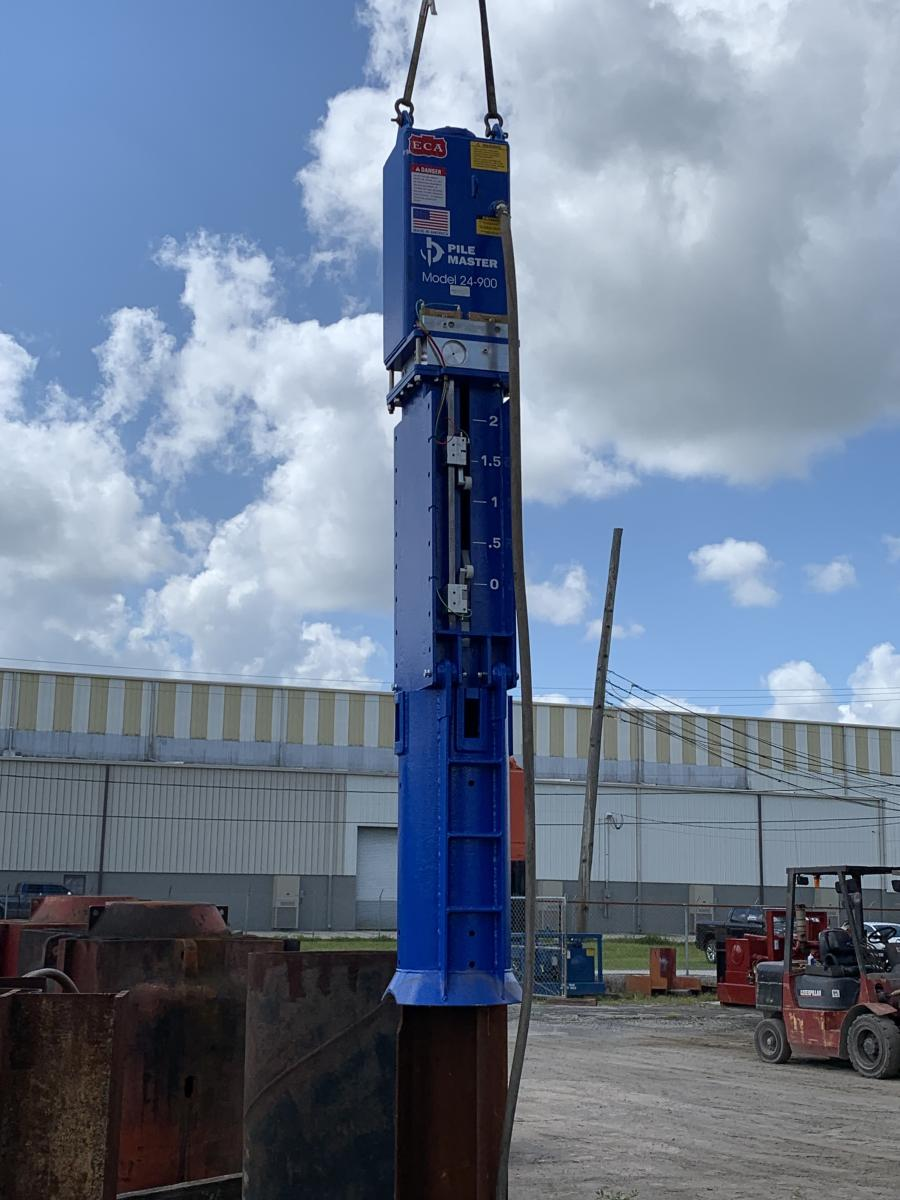 Foundation Hammers LLC has expanded the Pile Master line of air hammers.There are currently four Pile Master models available: the 24-900, the 24-2500, the 36-3000 and the 36-5000.