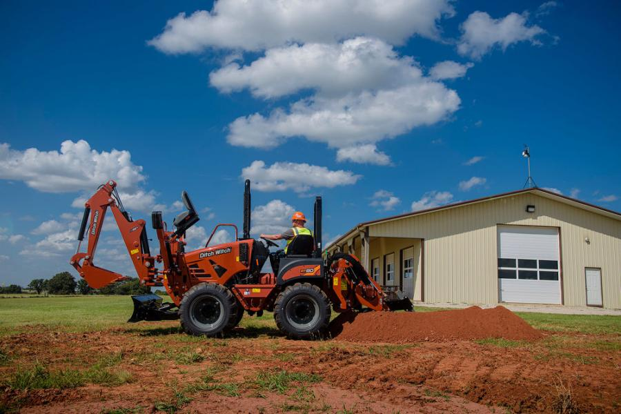 The new, modern RT80 trencher brings a narrower, more modular design and added versatility to the Ditch Witch family of trenchers — features contractors need most to increase productivity on today's evolving urban job sites.