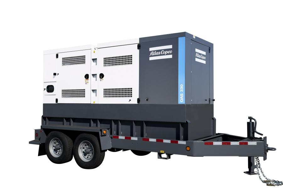 Atlas Copco Power Technique is updating its QAS 250 and QAS 330 generators with a more powerful John Deere 6090 engine.