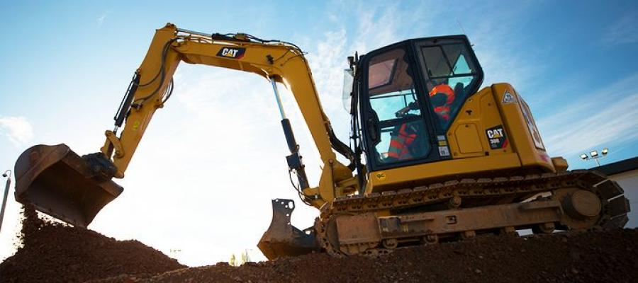 the Cat 308 CR Mini-Hydraulic Excavator delivers maximum power and performance in a mini design to help you work in a wide range of applications.
