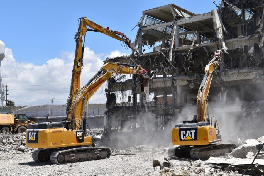 NDC has all the right tools, including two new high-reach excavators capable of reaching over 100 ft.
