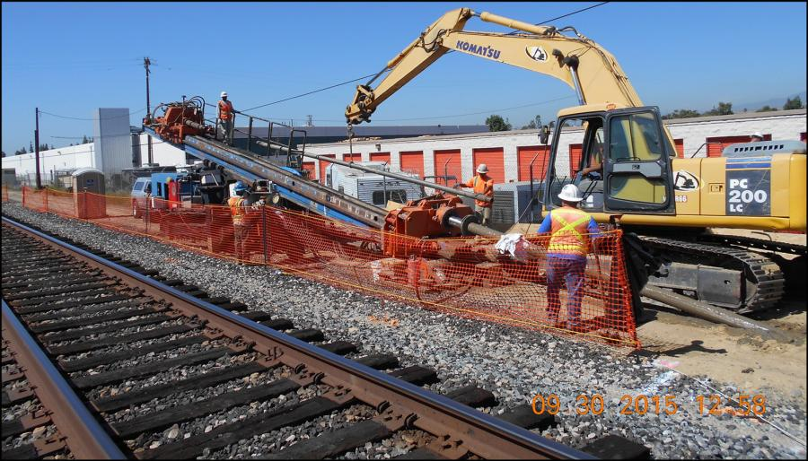 The $105.5 million Alameda East-Corridor (ACE) Durfee Avenue Grade Separation Project will separate the roadway and the railroad tracks on Durfee Avenue in the city of Pico Rivera.