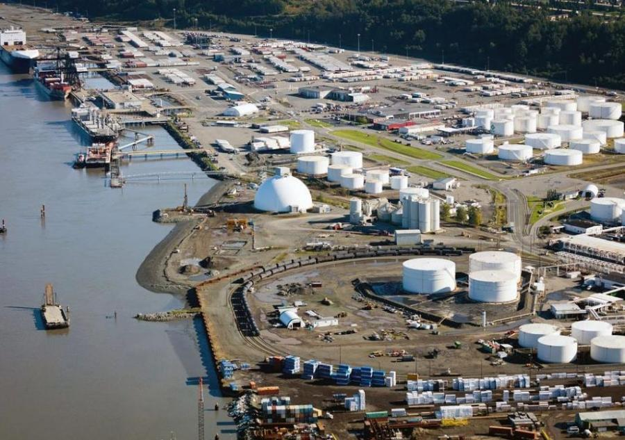 An estimated 85 percent of Alaska's homes and businesses rely on cargo from the port, which has fallen into disrepair over the years. (Port of Alaska photo)