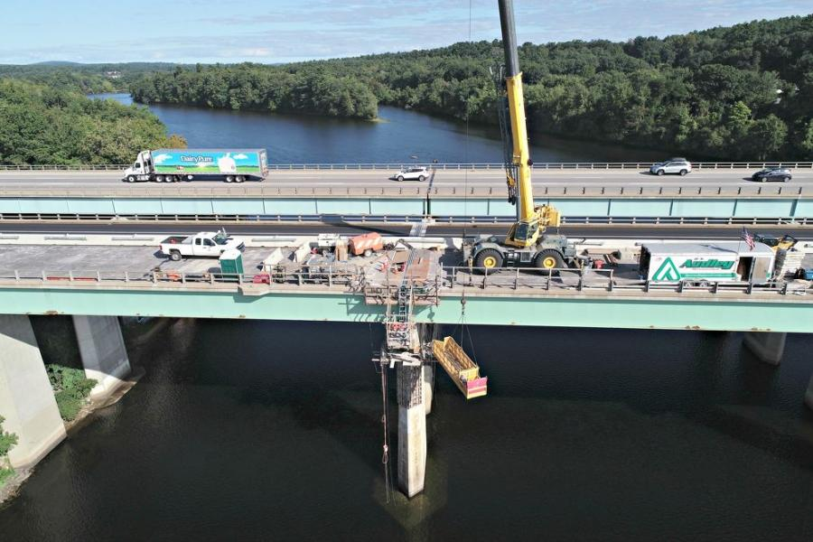 The rehabilitation of two bridges in Bedford and Manchester, N.H., is underway, with much of the work completed on one section of them.