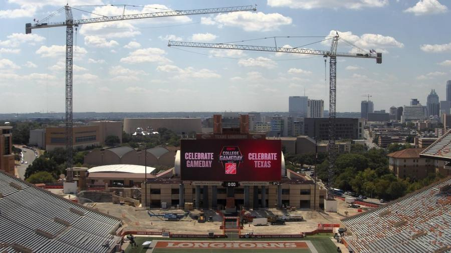 """When the project is finished, everyone will be very pleased with it,"" said Jim Shackelford, director of UT's Capital Planning and Construction. ""It will be a definite improvement to the south end zone of the stadium, and it will in essence complete the master plan that was envisioned more than 12 years ago for the stadium as a whole."""