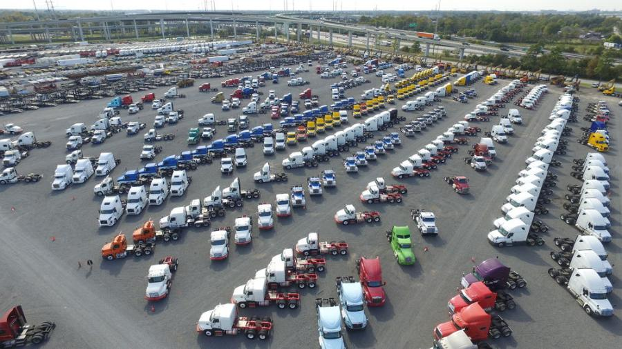 Ritchie Bros.' two-day Houston auction featured more than 620 truck tractors, totaling $15 million in gross transaction value — setting a new company record for truck tractor sales in a single auction.