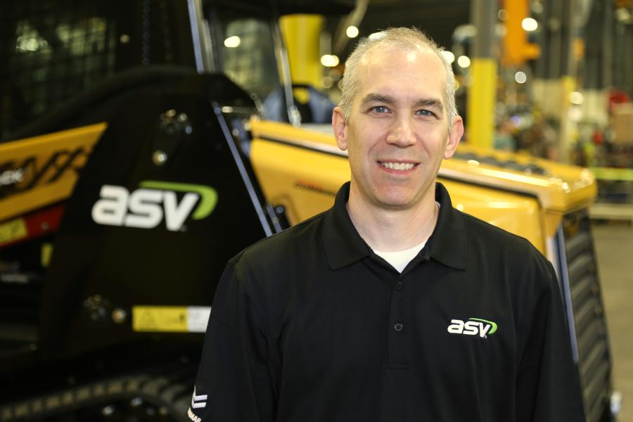 Frank Gangi has been promoted to national accounts manager of ASV Holdings Inc. Gangi will be responsible for supporting and growing ASV's customer portfolio, including OEM and national rental customers, direct national accounts and strategic attachment partners. (ASV photo)