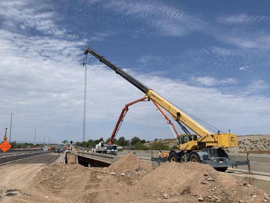 The Arizona Department of Transportation (ADOT) is overseeing a $185 million effort that will widen and improve the Loop 101 (Pima Freeway) from Interstate 17 in Phoenix east to Pima Road in Scottsdale. (ADOT Photo)