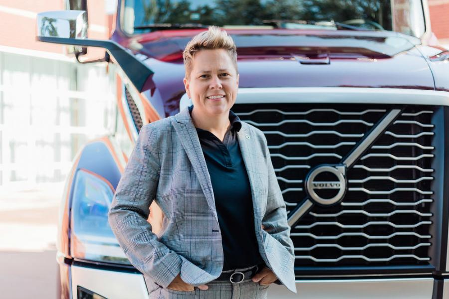 Christina Ameigh, regional vice president — western region, of Volvo Trucks North America.