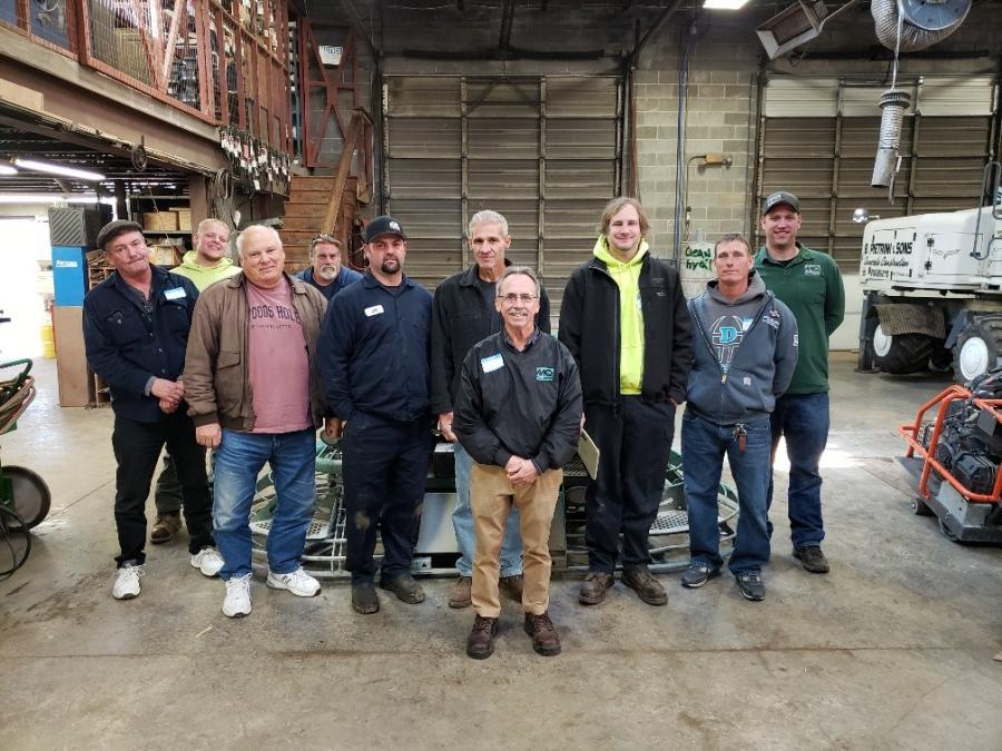 Representatives from King of Prussia Equipment Corp.; E & G Concrete; Neuber Concrete; B. Pietrini & Sons; Gentile Concrete Construction; Fabbri Concrete; and Creek Side Concrete attended the seminar.