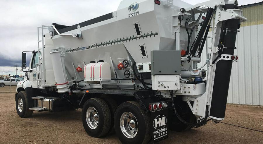 CMW Equipment is adding Holcombe Mixers to its product line.