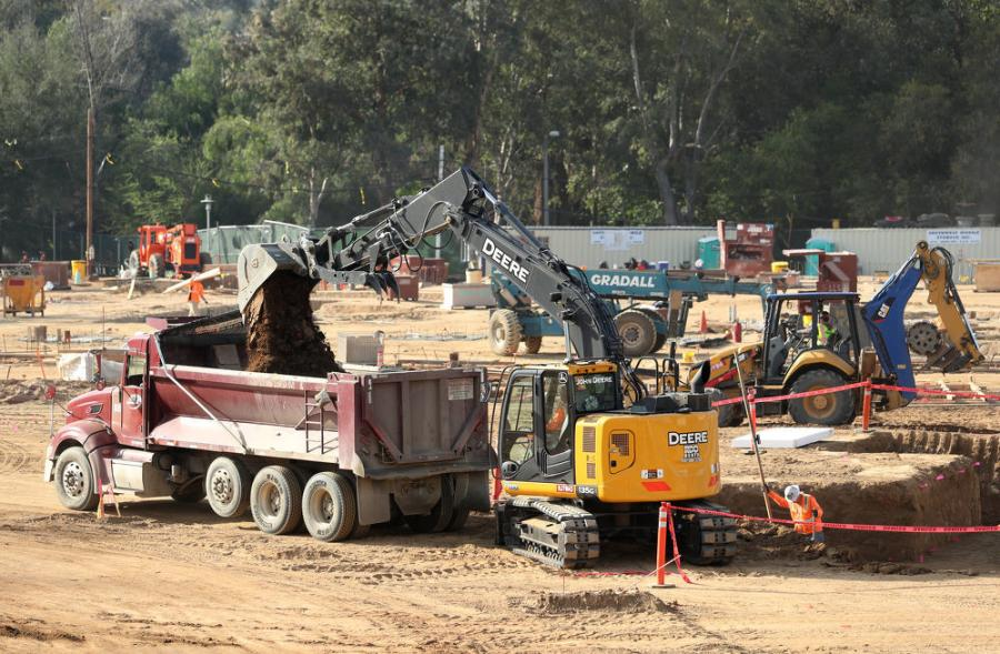 The multiphase redevelopment effort known as the North District is part of a move to increase on-campus student housing, with construction taking place at the same time as the school's Dundee-Glasgow project.