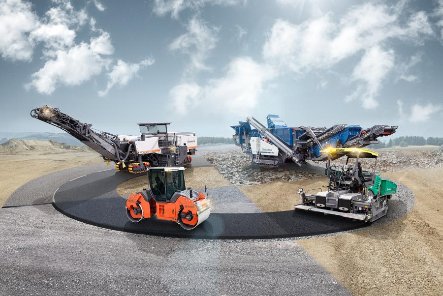 """Innovation. Performance. Partners."" is the Wirtgen Group's slogan for Conexpo-Con/Agg 2020. This encompasses complete solutions from a single source – from specialized product brands for the entire process chain in road construction."