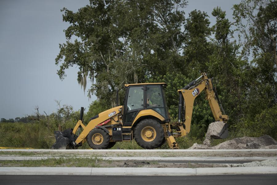 The new center-pivot 420XE backhoe loader now offers seat mounted controls for low-effort machine control to boost operator efficiency and reduce fatigue.